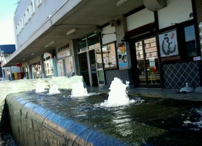 伊予西条駅、駅前